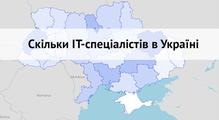 Скільки ІТ-спеціалістів вУкраїні: підрахунок заданими Мін'юсту