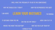 Learn your mistakes, или Как исправлять свои ошибки ванглийском