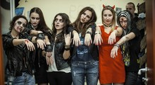Парад страха иужаса 2014: Хэллоуин вофисах украинских IT-компаний