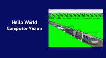 Hello World уComputer Vision: визначаємо швидкість руху авто накордоні зПольщею