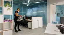 Ноутбуки замістьПК, безкоштовні ПЛР-тести тазнезараження офісів сухим туманом. ЯкІТ-компанії змінили умови роботи під час карантину