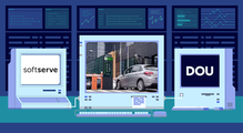 DOU Labs: якуSoftServe створили систему розумного шлагбаума йпаркування