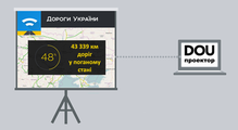 DOU Проектор: «Дороги Украины»— сервис мониторинга дорог