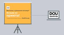 DOU Проектор: GladPet— помощь бездомным животным онлайн