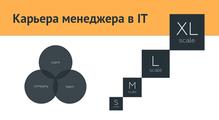 Как развивается карьера Project Manager вIT: масштаб отS доXL
