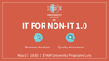 ІТ for non-IT 1.0: BA / QA
