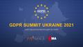 GDPR Summit Ukraine 2021