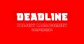 DEADLINE - Project Management Conference