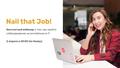 """Бесплатный вебинар от Анны Гандрабуры """"Nail that job"""""""
