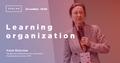 """Вебинар """"Самообучающаяся организация: новая управленческая парадигма"""""""