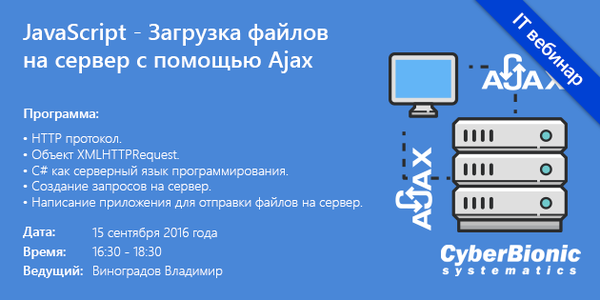 на ajax сервер фотографии загрузка