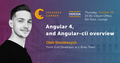 Odessa Speakers' Corner: Angular 4 and Angular-cli overview