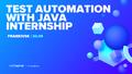 Безкоштовне стажування з Test Automation with Java від SoftServe