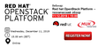 MUK webinar | Red hat OpenStack Platform – технический обзор