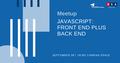 """Митап """"JavaScript: Front End plus Back End"""""""