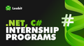 Leobit .NET Internship Program