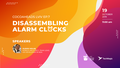 CocoaHeads Lviv ep.7: Disassembling alarm clocks