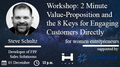 """Семинар """"2 Minute Value-Proposition and the 8 Keys for Engaging Customers Directly"""""""