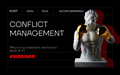 """Вебінар """"Conflict Management. Why is it so important and how to excel at it?"""""""