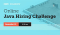 Online EPAM Java Hiring Challenge Kharkiv