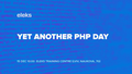 Meetup Yet Another PHP Day
