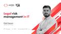 Legal risk management in ІТ