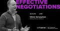 Тренінг Effective Negotiations