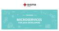 Тренинг «Микросервисы для Java разработчиков. Киев»