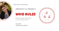 Вебинар: product manager vs project manager — who rules?