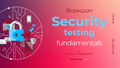 "Воркшоп ""Security testing fundamentals"""
