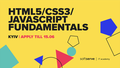 "Курс від SoftServe ""HTML5/ CSS3/ JavaScript fundamentals"""