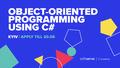 """Курс від SoftServe """"Об'єктно-орієнтоване програмування мовою C#"""""""
