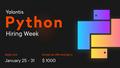 Yalantis Python Hiring Week