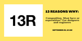 """Webinar """"13 Reasons Why: Composition. Must have or superstition?"""" for designers and engineers"""