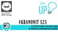 """#kranonit S23 """"Стартапы. Подходы в программировании"""""""