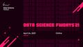 Онлайн-конференція Data Science fwdays'21