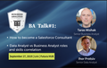 BA Talk#1: Salesforce Consultant vs Data Analyst vs Business Analyst