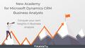 Microsoft Dynamics CRM Business Analysis Academy & Internship - ENAVATE