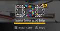 D3D 2017 - Tech Seminar by AMC Bridge