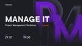 Manage IT: PM workshop