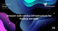 Meet Up JS: Amazon web service infrastructure for Node.js services