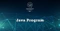 Java Spring | EPAM University Program