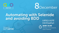 IF QMO Meetup: Automating with Selenide and avoiding BDD