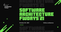 Конференція Software Architecture fwdays'21