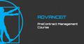 "Старт курса ""PreContract Management"" от AdvanceIT"