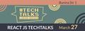React JS TechTalks at Lohika