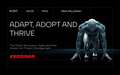 """Webinar  """"Adapt, Adopt and Thrive: The Robot Revolution, Agile and their Impact on Project Management"""""""