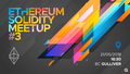 Ethereum and Solidity Meetup