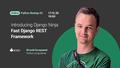Python Online Beetup #2: Django Ninja — Fast Django REST Framework