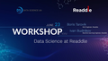 Workshop: Data Science at Readdle